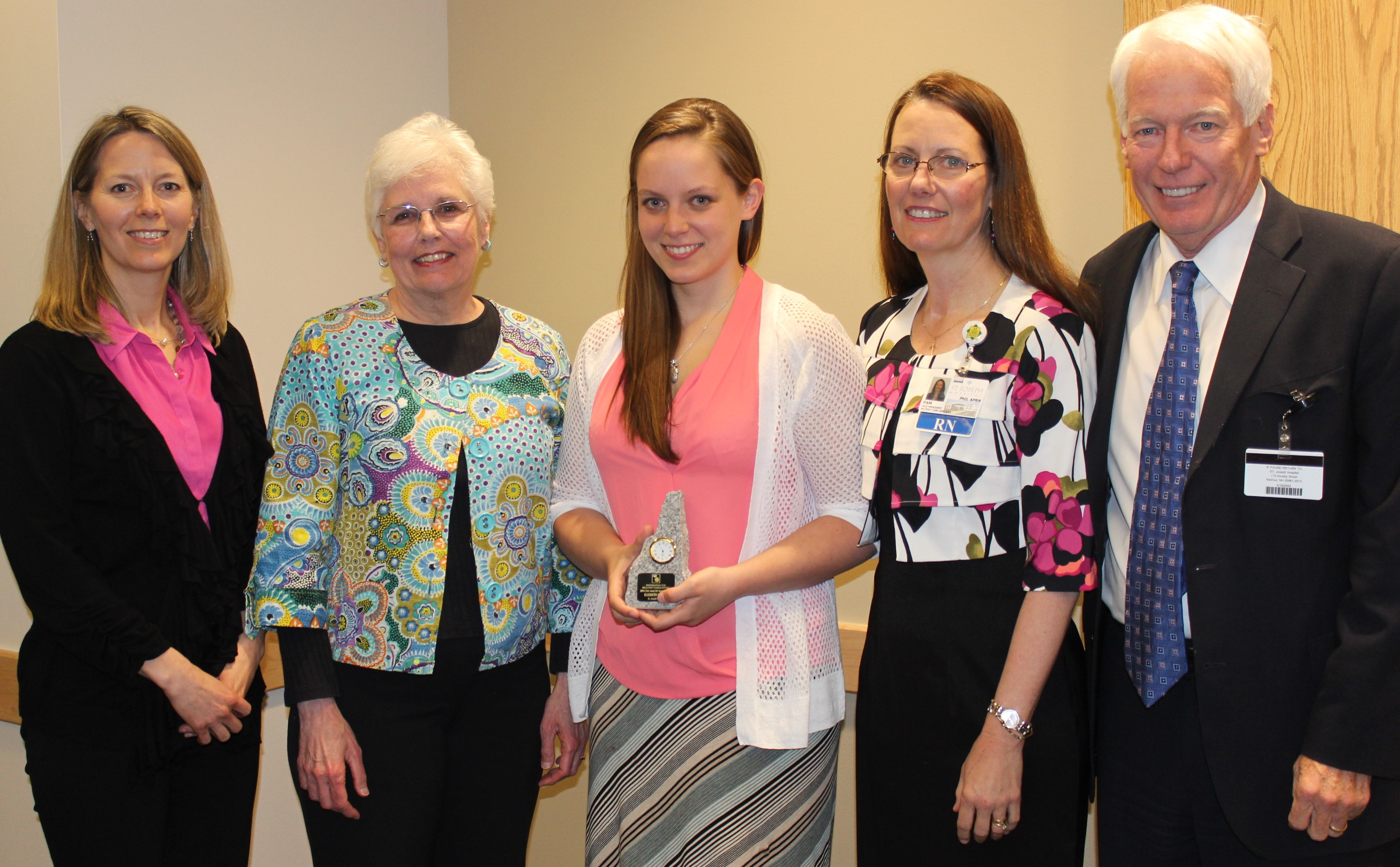 2014 Clint Jones Nursing Award 050714